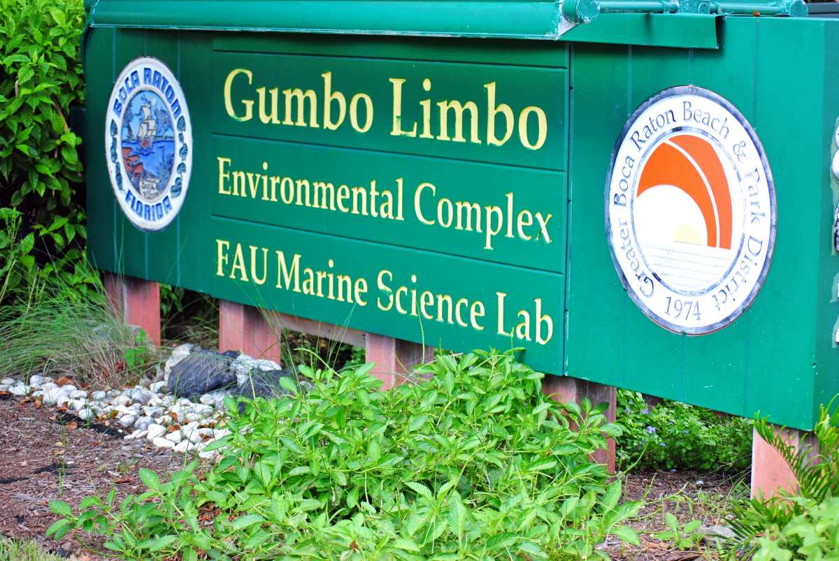 Gumbo Limbo sign