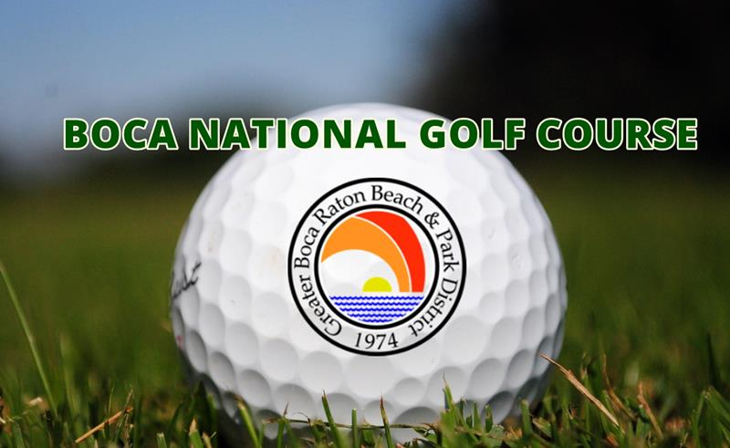 Boca National Golf Course Graphic