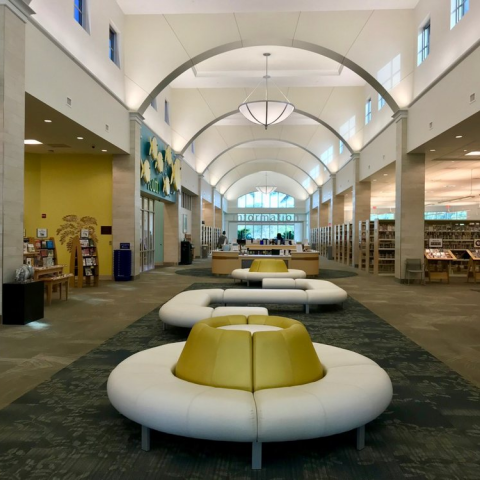 Downtown boca library